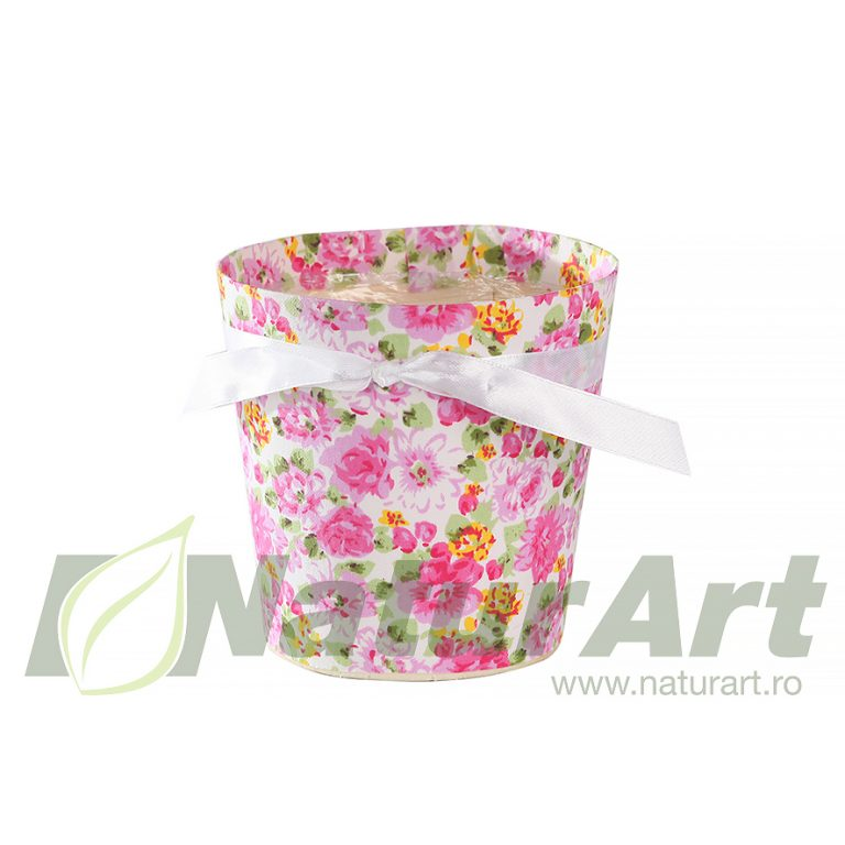 M40173 INV.GHIVECI 12cm FLOWER PINK