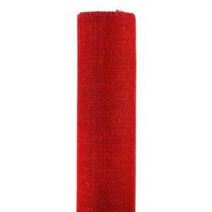 18-00-00 PLASA IUTA 50cm/5m ROSU INCHIS FLORIMA