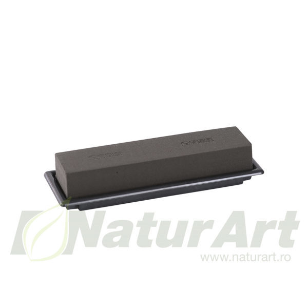 11-04051 Black Table Deco Medi 25x9x5cm OASIS®