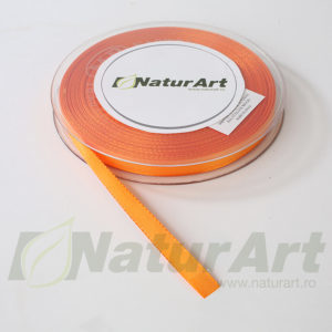 2960XP ROLA PANGLICA SATEN MAT – TAFTA 10mm/50m ORANGE PORTOCALIU