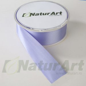 1474XG SATEN 40mm/25m DUBLA FATA ALBASTRU IRIS-LILAC LIGHT