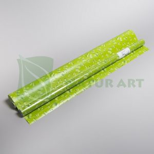 64274 HARTIE FOLIE FLUTURASI 70cm-100cm SET.2 VERDE LIGHT