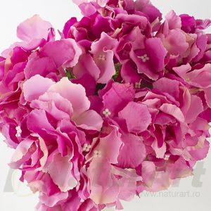 hydrangea-HORTENSIA-28cmD-TIJE- 32cmL-fuchsia-roz-cyclam-detaliu-naturart-importator