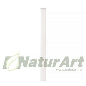 BCRL50-4 LUMANARE CILINDRU 50cm/4cm ALBA