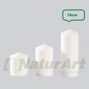 CRL18-7.2 LUMANARE STALP 18cmH/7.2cmH ALB P.FIX