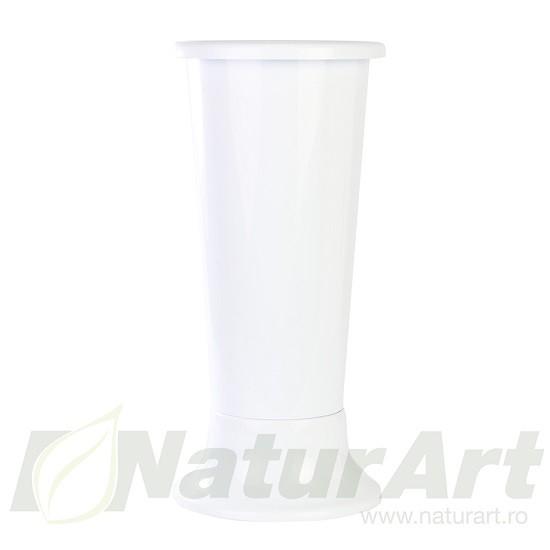 428WH VAZA PLASTIC 18X45cm ALBA